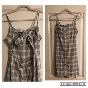 Pacsun Plaid Dress
